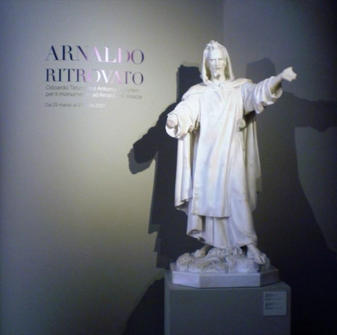 Arnaldo da Brescia, mito e memoria, la mostra - foto di Enrica Recalcati per www.bsnews.it