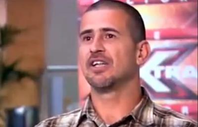 Manuel Pons Sanchez, accusato di pedofilia mentre era sul palco dell'edizione inglese di X Factor