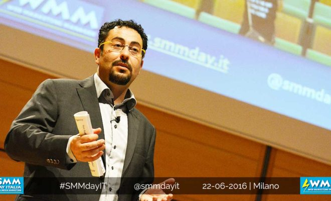 Andrea Albanese, l'anima del Social Media Marketing Day di Milano