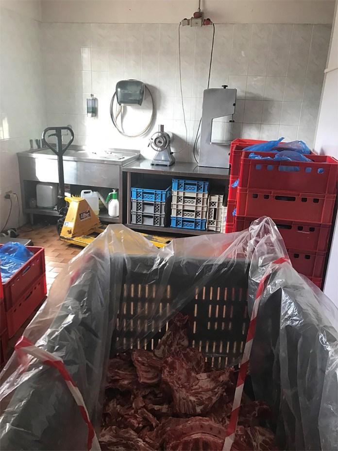 Carne sequestrata dall'Ats per la violazione dei sigilli