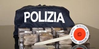 Droga sequestrata dalla Polizia di Brescia (hashish)