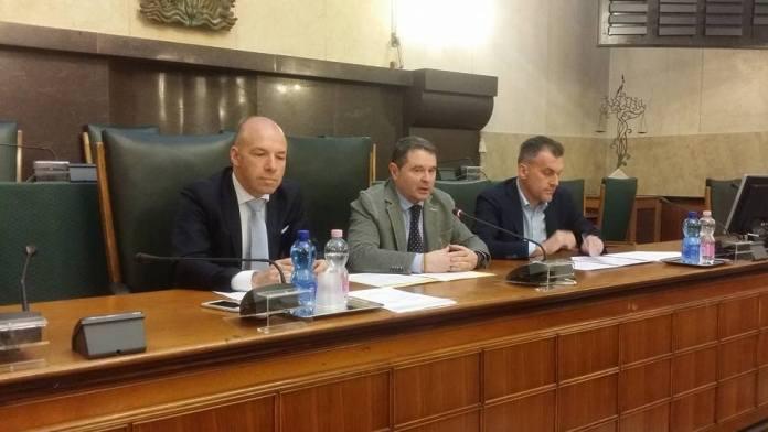 Ugo Parolo, Pier Luigi Mottinelli e  Roger De Menech