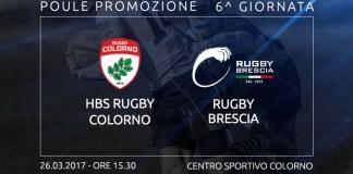 Rugby Colorno contro Rugby Brescia, l'anticipazione