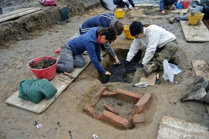 Reperti archeologici corso Zanardelli