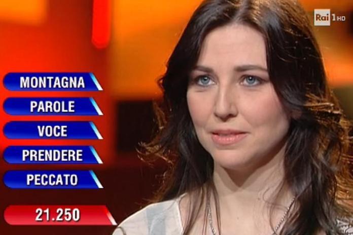 Silvia Civieri, l'impiegata di Toscolano che ha vinto all'Eredità di Fabrizio Frizzi