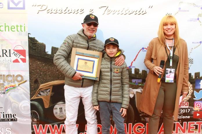 I vincitori della 500 Miglia Touring - foto da ufficiio stampa