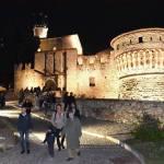 Brescia, il Castello sotto nuova luce grazie al sistema a Led di A2A, foto da Facebook (Emilio Del Bono e Laura Castelletti)