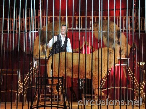 Il circo Nando Orfei a Sarezzo