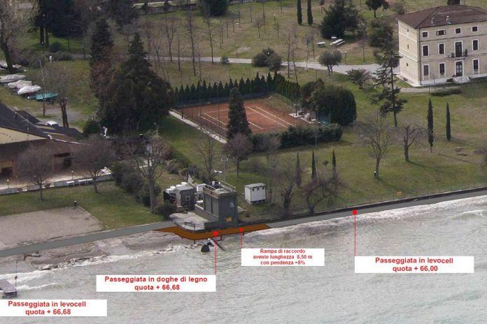 L'area dell'ex idroscalo di Desenzano