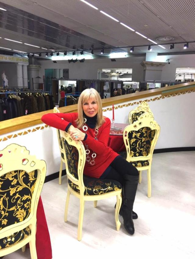 Dina Saottini, foto da Facebook