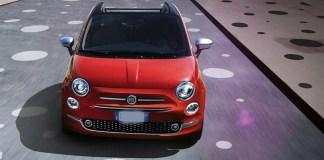 Una Fiat 500, foto da web