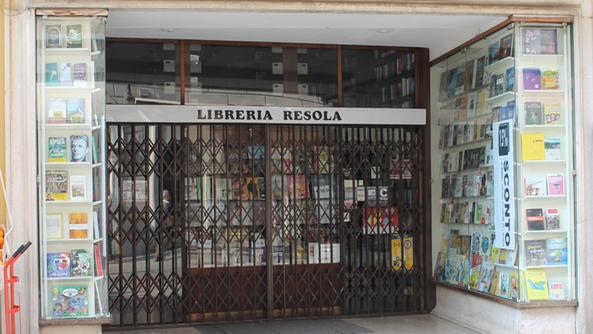 La Libreria Resola, sita in corso Garibaldi a Brescia