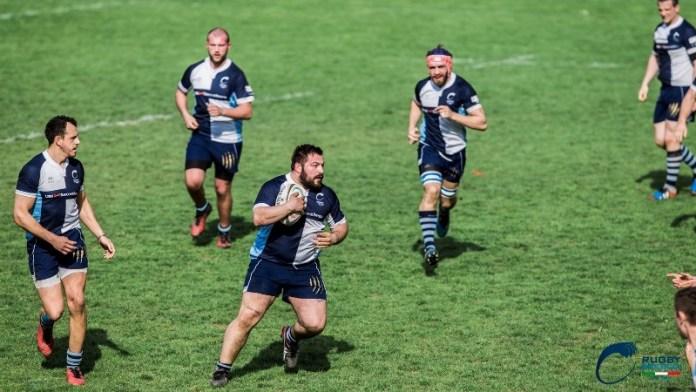 I giocatori del Rugby Brescia in azione - foto da ufficio stampa