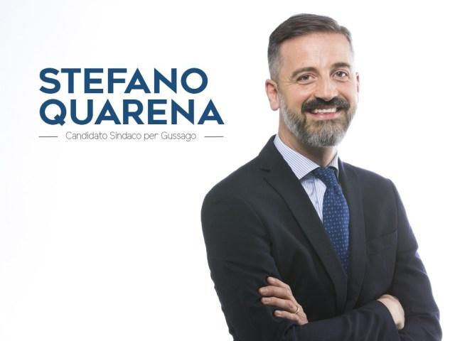 Stefano Quarena, candidato sindaco della Lega Nord a Gussago