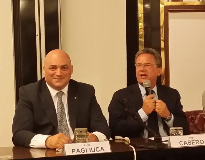 Luigi Casero e Luigi Pagliuca - ph credit ufficio stampa www.bsnews.it