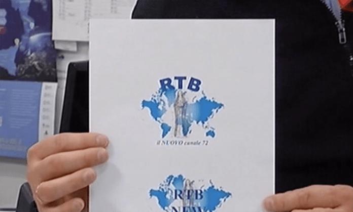 L'ipotesi di nuovo logo di Rtb presentata agli spettatori da Marco Ferrari, www.bsnews.it