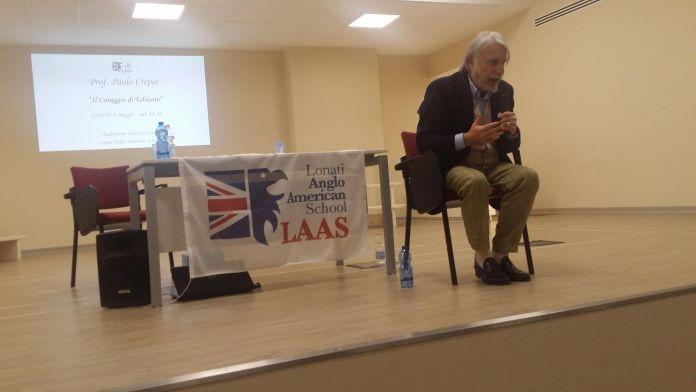 Paolo Crepet alla Laas Lonati, www.bsnews.it