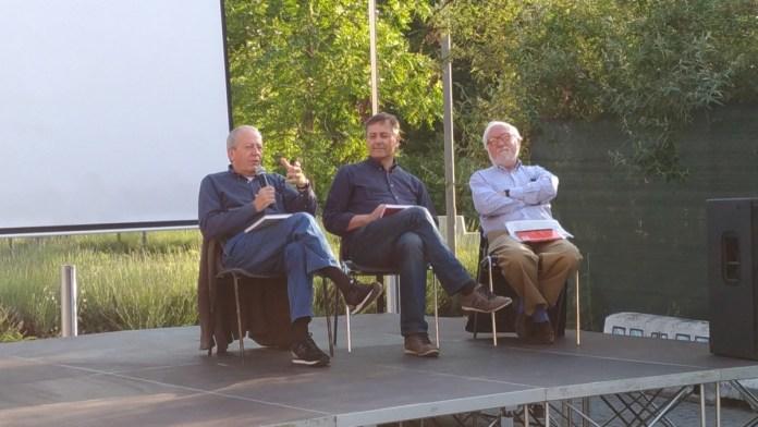 Rebecchi, Zane e Negri al dibattito di Campo Fiera Retrò, foto Andrea Tortelli,, www.bsnews.it