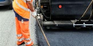 Lavori di asfaltatura delle strade