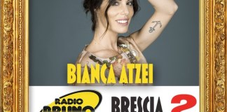 Bianca Atzei in piazza Loggia per Radio Bruno Estate
