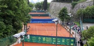 Sport Brescia Forza e Costanza Internazionali di tennis femminili vedute campi, 22 Maggio 2012. Ph Felice Calabro'