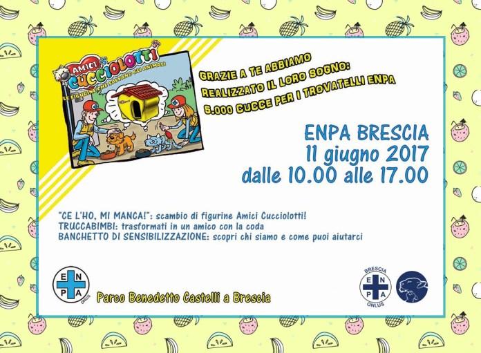 Il programma della festa di Enpa al Parco Castelli di Brescia