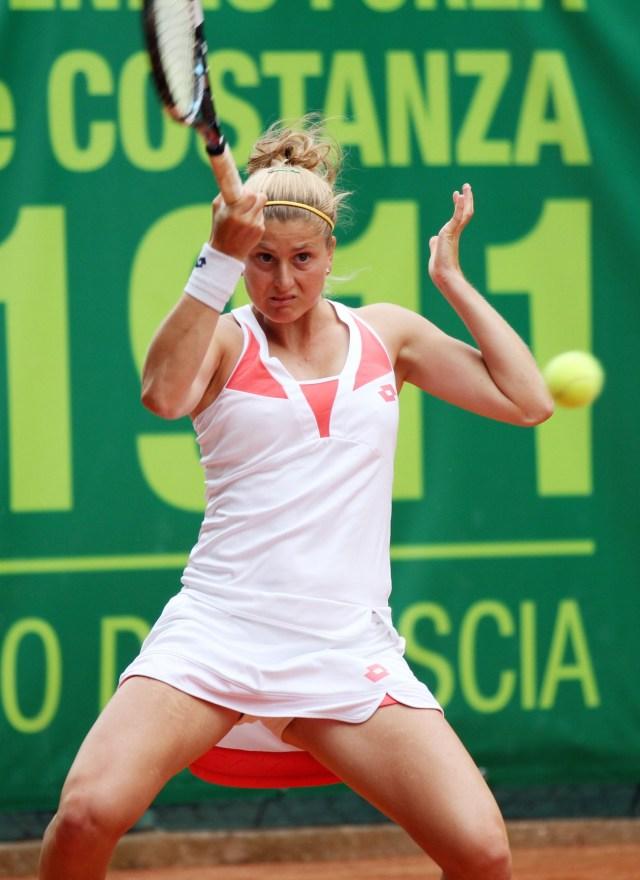 Sport Tennis Forza e Costanza Brescia Internazionali femminili Anna Giulia Remondina - oggi 4 Giugno, 2014. Foto Felice Calabro'