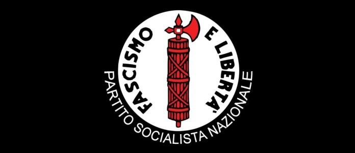 Il logo del movimento Fascismo e Libertà
