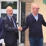 Piergiacomo Bollani, Stefano Vittorio Kuhn, Peter Assembergs e Ezio Frego - foto da ufficio stampa
