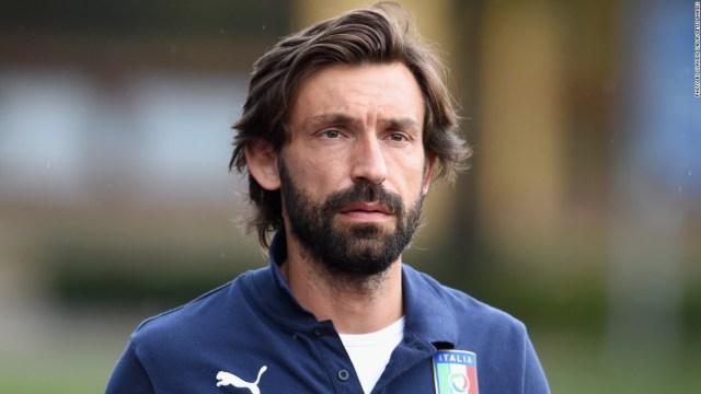 Il calciatore Andrea Pirlo