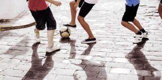 Calcio di strada