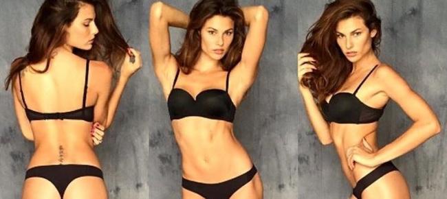 La modella brasiliana Dayane Mello