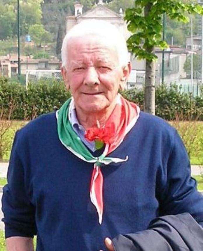 L'ex partigiano Paolo Vianelli