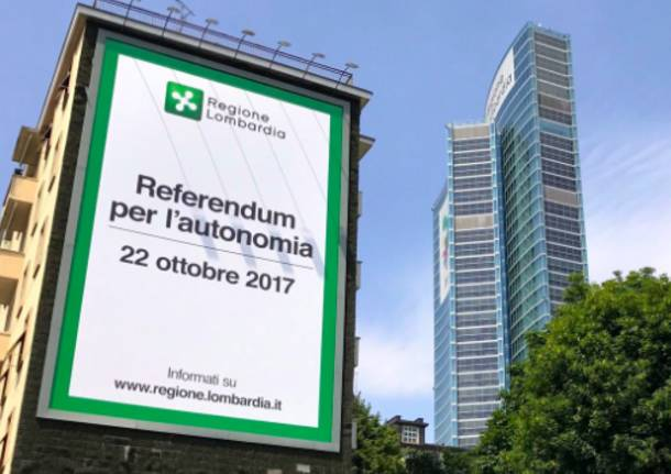 Il 22 ottobre si vota per il referendum per l'autonomia lombarda