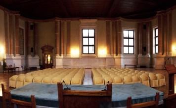 Salone vanvitelliano Palazzo Loggia - Brescia