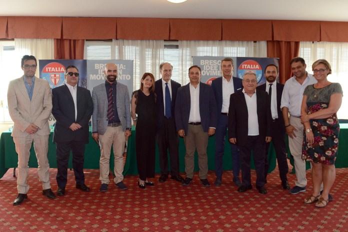 I presenti alla prima convention bresciana della nuova Udc