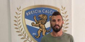 Alessandro Longhi nella sede del Brescia - foto da sito Brescia Calcio