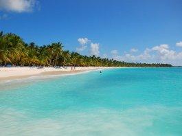 Una spiaggia di Santo Domingo