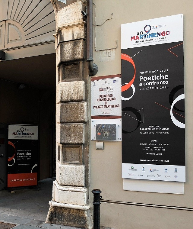 Premio Nocivelli, poetiche a confronto, Brescia - Foto di Enrica Recalcati per www.bsnews.it