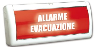 Allarme evacuazione