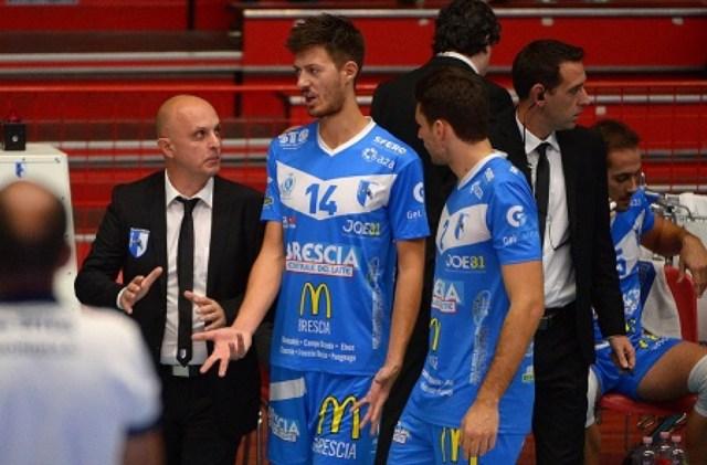 Centrale McDonald's Brescia pallavolo, foto da ufficio stampa