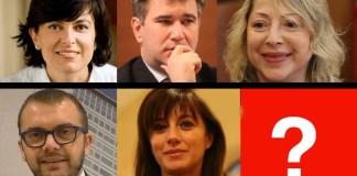 Alcuni dei possibili candidati del centrodestra bresciano per il Comune di Brescia, grafica BsNews.it