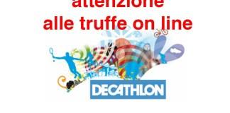 Attenzione alla truffa on line dei falsi buoni Decathlon