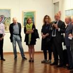 """La mostra """"Acciai"""" di Elio Uberti, inaugurata all'Aab di Brescia, foto di Enrica Recalcati per BsNews.it"""