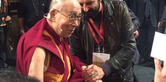 Pedrini incontra il Dalai Lama