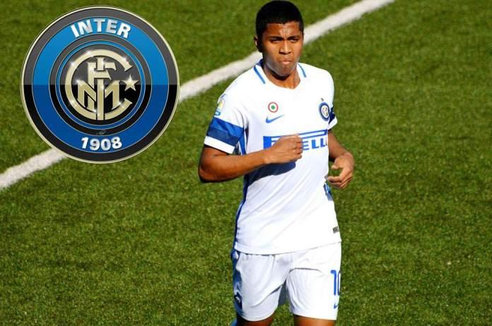 La giovane promessa del calcio Rigoberto Rivas, arrivato a Brescia dall'Inter