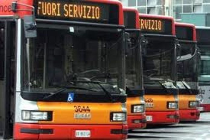 Bus in sciopero