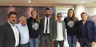 La presentazione delle nuove giocatrici della Millenium in Banca Valsabbina