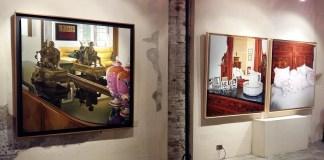 """Il """"Dentro fuori"""" di Rosabianca Cinquetti, mostra in vicolo San Zenone 4 a Brescia – Foto Enrica Recalcati per www.bsnews.it"""