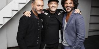 Nek, Max Pezzali e Francesco Renga, foto di Luisa Carcavale, www.bsnews.it